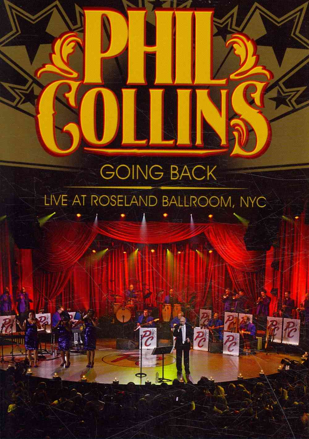 GOING BACK:LIVE AT ROSELAND BY COLLINS,PHIL (DVD)
